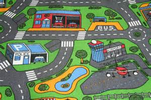 road map carpet for childrens bedroom road theme