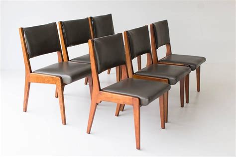Jens Risom Dining Chairs Early Jens Risom Dining Chairs For Sale At 1stdibs