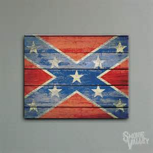 Rebel Flag Home Decor Confederate Flag Patriotic Americana Vintage By Allchalkboard Flags Confederate