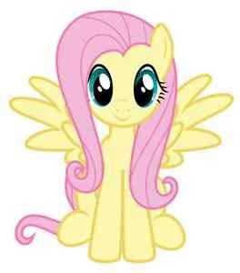 Mainan My Pony Light Up Yellow fluttershy my pony iron on transfer 5 quot x5 5 quot for light colored fabric 609594263251 ebay