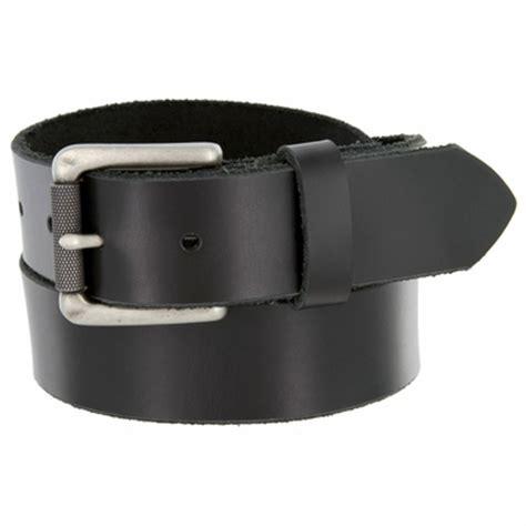 s one grain leather casual jean belt black