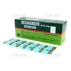 Obat Penggemuk Badan Harsen Jual Beli Dexamethasone Harsen 0 75mg Str Tab K24klik