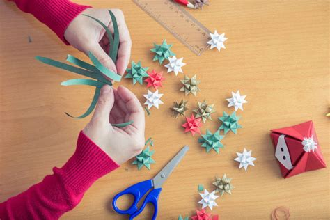 How To Make Ornaments Out Of Paper - crafts decorations out of paper ebay