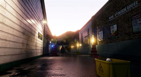 Sunset Garage by Dangerous Golf Three Fields Entertainment