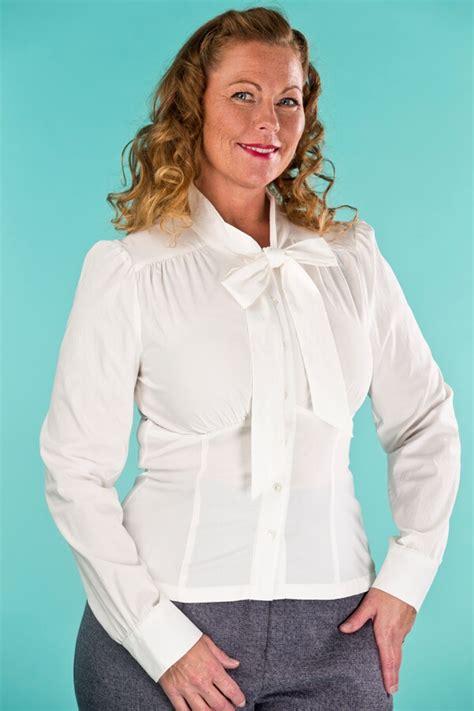 Sassy Blouse emmy design the sassy blouse white