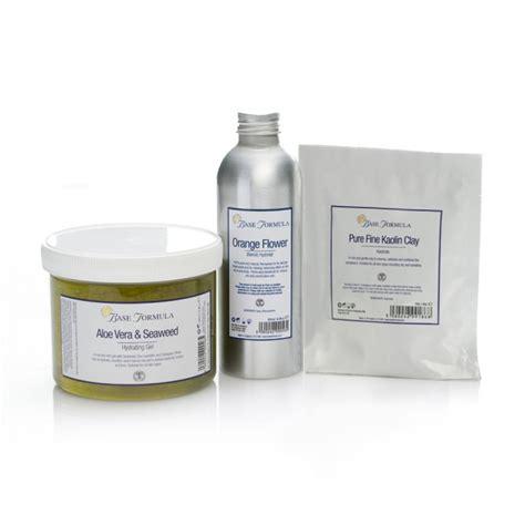 Kaolin Clay kaolin clay mask kit with aloe vera gel hydrolat