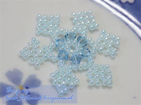 tutorial snowflake charm bead tutorial