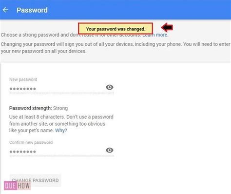 gmail password reset via text how to change gmail password quehow