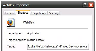 firefox profile themes use multiple firefox profiles at the same time