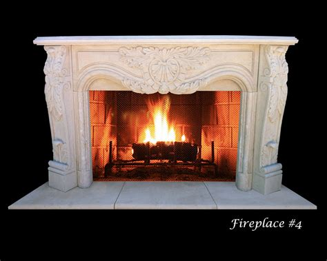 Instant Fireplace by Install A Limestone Fireplace For An Instant Tough Of
