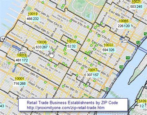 zip code business pattern zip code retail trade sales business patterns