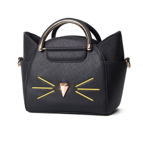 Fashion Bag 890 Black new handbag fashion cat costume shopper bag mini