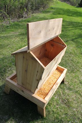 Diy Deer Feeder Plans wooden deer feeder plans building pdf plans