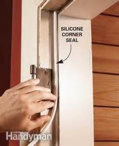 replace  weather strip weather doors  house