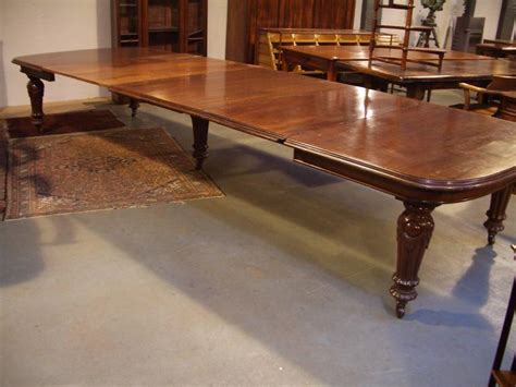 great impressive antique victorian dining table  sale