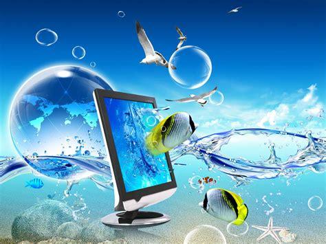 animated desktop fish wallpapers