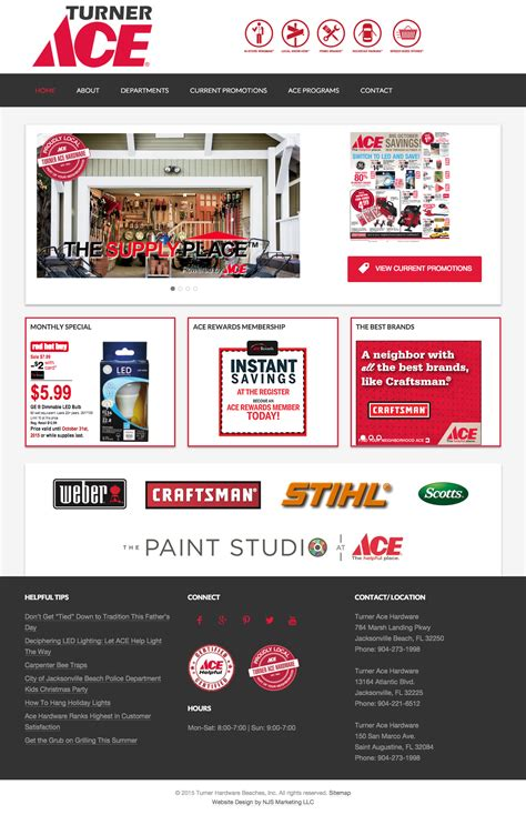 ace hardware instagram ace hardware website design njs marketing jacksonville fl