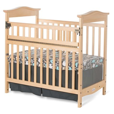 Foundations Mini Crib Foundations The Princeton Clear Choice Safereach Side Mini Crib Cribs At Hayneedle