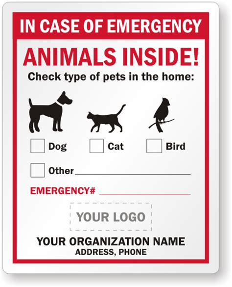 Aufkleber Feuerwehr Tiere by Pet Rescue Stickers In Of Emergency Stickers