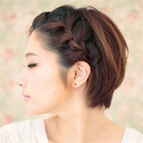 plaited hairstyles for short hair braided hairstyles for short hair melanie richard s