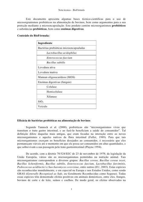 biography formula nota tecnica bio formula 100704 1