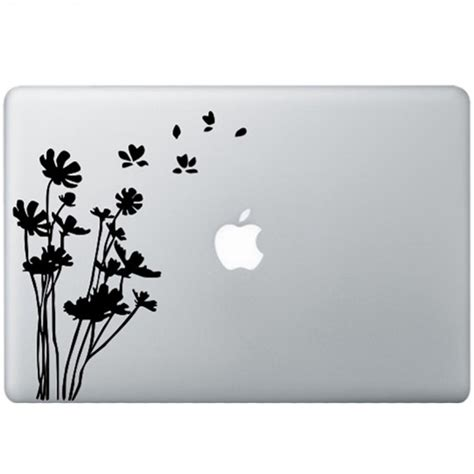 Promo Apple Mac Book 13 Decal Wave flowers macbook decal kongdecals macbook decals