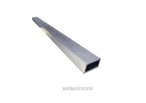 aluminium hollow section weight aluminium rectangular hollow section 1 inch 25 4mm x 1 2