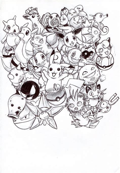 pokemon kanto coloring pages kanto starters pokemon coloring pages