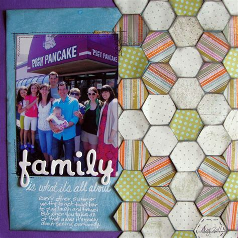 Patchwork History - patchwork history trends and ideas for scrapbook page design