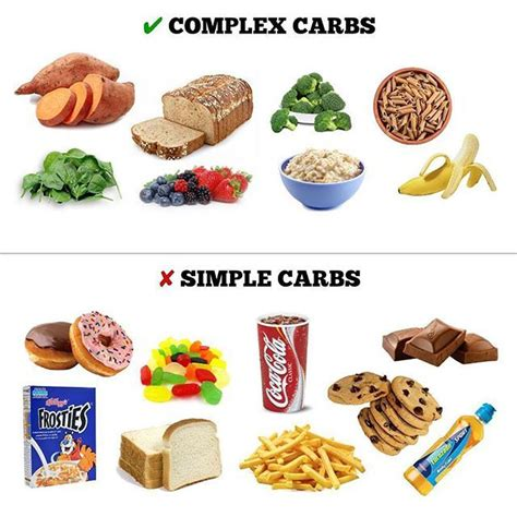 list of carbohydrates importance of complex carbohydrates in the diet dockgala