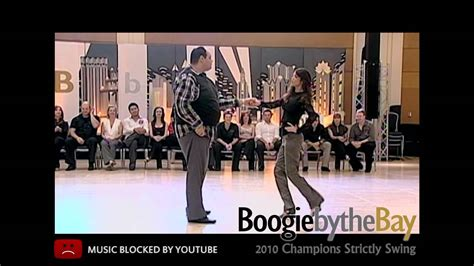 john lindo west coast swing john lindo jessica cox 5th place 2010 boogie by the