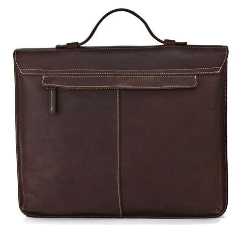 Handmade Laptop Bags - handmade leather briefcase leather messenger bag 13