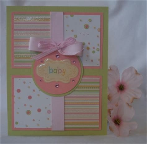 Handmade Baby Cards - handmade baby greeting cards and exles of handmade cards