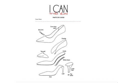 shoe design template booklet i can make shoes