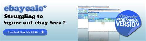 ebay fees uk ebay paypal fees calculator uk