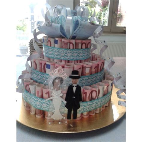 money wedding gift money cake wedding gift geldtaart leuk idee als