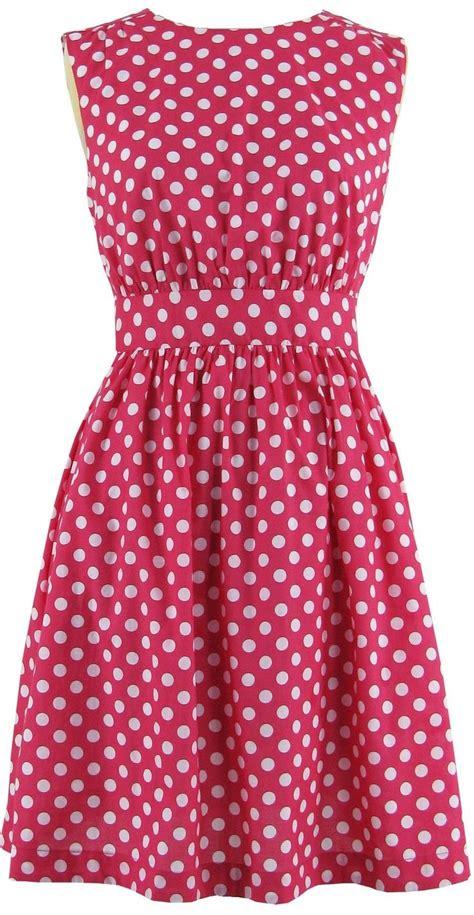 Dot Dress pink dresses for fin polka dot dress pink dress emily fin dress dot