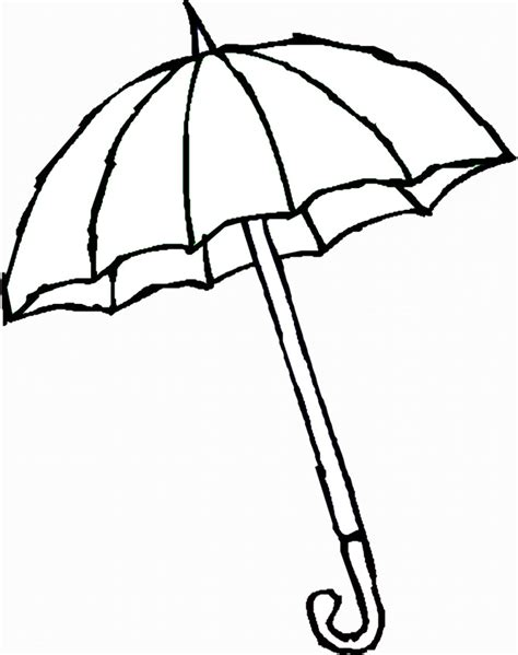 printable coloring pages umbrella umbrella pictures for kids