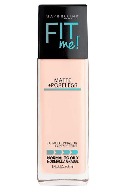 Maybelline Fit Me poreless matte liquid foundation fit me maybelline
