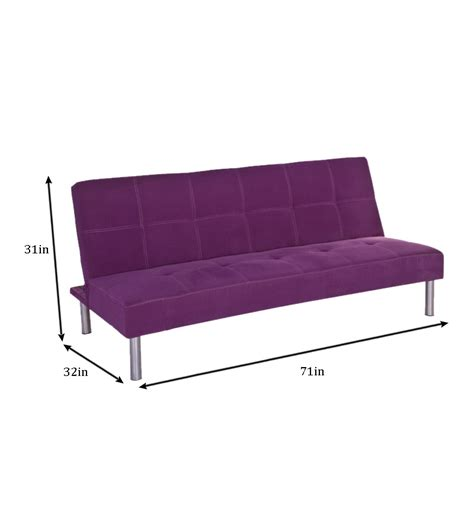 neelkamal sofa cum bed nilkamal basil purple sofa cum bed by nilkamal online