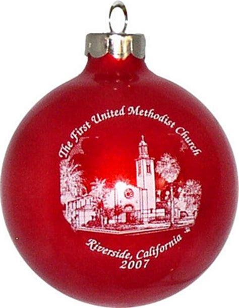 church christmas ornament for fundraising