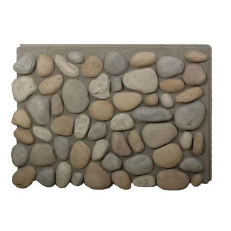 faux river rock