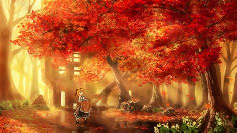 anime fall anime fall wallpaper hd desktop uhd 4k mobile tablet