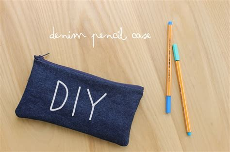 harri wren diy denim pencil