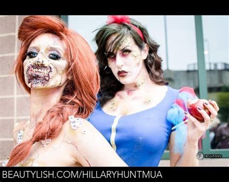 zombie ariel tutorial zombie disney princesses hillary h s hillaryhuntmua