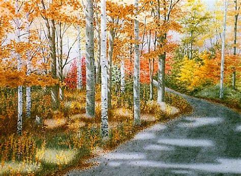 imagenes de paisajes en acuarela cuadros pinturas oleos paisajes realistas naturales