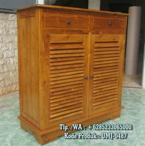 Rak Sepatu Jati Jepara lemari rak sepatu kayu jati harga terjangkau call 6285233065000 zahir furniture ukir