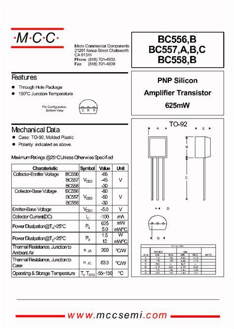 datasheet transistor tipe c9013 bc556b 323544 pdf datasheet ic on line