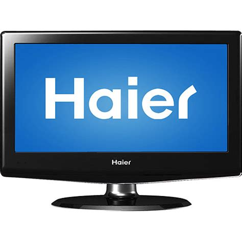 24 inch haier lcd flat screen television tv new
