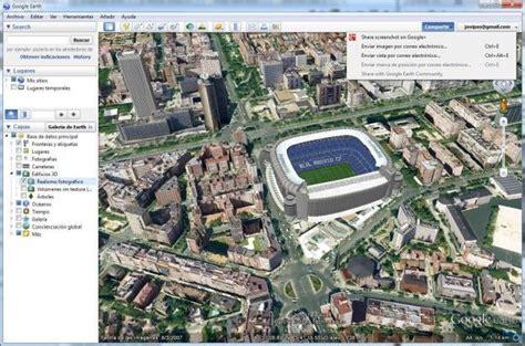 imagenes satelitales mejor que google earth llega google earth 6 2 con mejores im 225 genes de sat 233 lite y